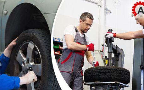 Kompletní přezutí pneumatik vč. vyvážení