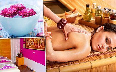 Exotická egyptská masáž za 299 Kč