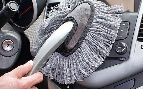 Prachovka do auta - skvělý pomocník!