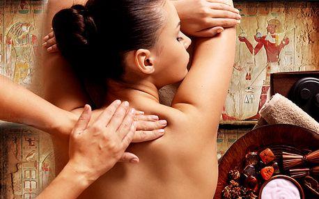Hodinová Egyptská aroma nebo Bali masáž