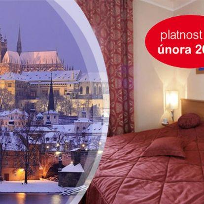 Praha pro DVA na 2/3 dny v Gallery Hotelu SIS*** se snídaní a saunou