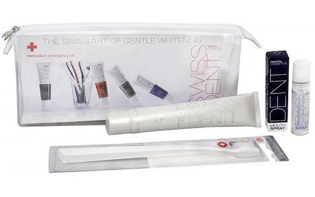 Swissdent Stříbrný set pro péči o zuby Emergency Kit
