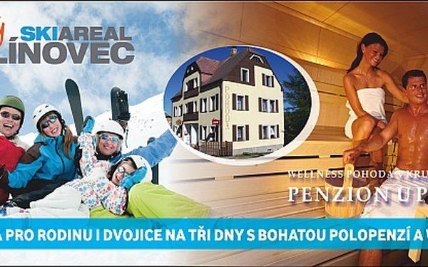 Zimní wellness dovolená v penzionu U Pohody pro...