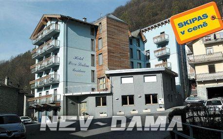 Residence Pizzo Scalino, Chiesa Valmalenco, Itálie, vlastní doprava, bez stravy