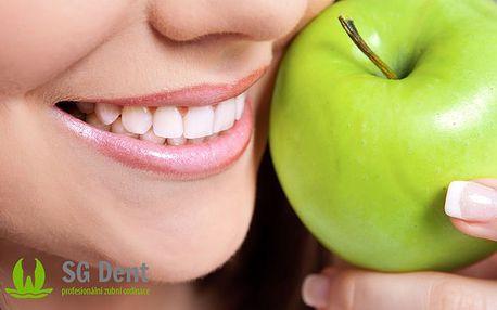 Kompletní dentální hygiena s možností bělení chrupu
