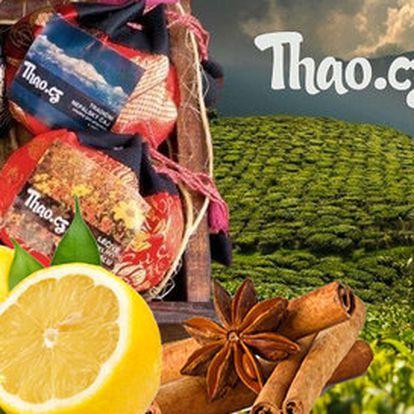 Balení 6 speciálních čajů z Nepálu