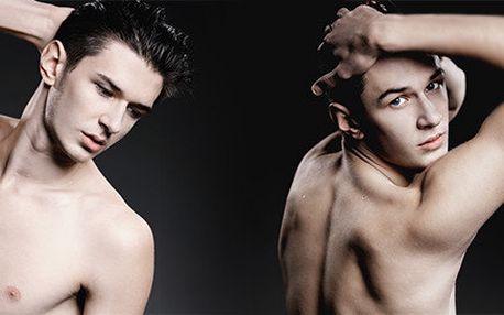 5x IPL pro muže – trvalá epilace zad, ramen a podpaží
