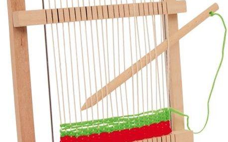 Jednoduchý dřevěný tkalcovský rám Mira
