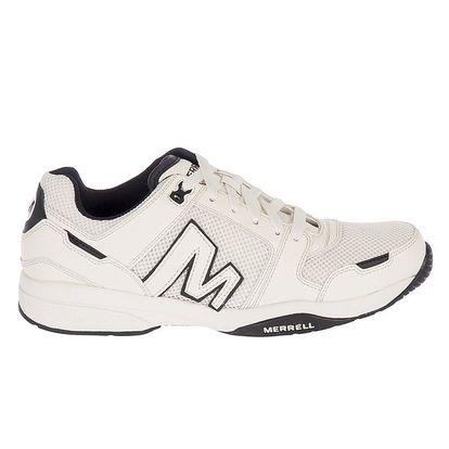 Pánské bílé kožené sportovní tenisky Merrell