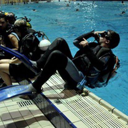 Kurz potápění - s licencí Open Water Diver (1.12.)