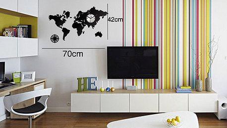 Designové nástěnné hodiny dle výběru s doručením zdarma