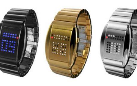 Hledáte opravdu pěkný dárek pro svého blízkého? Kupte mu či jí binární hodinky Tokyoflash R75! Zlevněno o 2500 Kč!