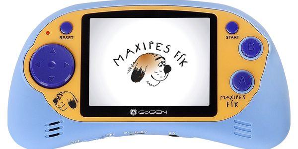 Herní konzole GoGEN Maxipes Fík MAXI HRY 150 B modrá4