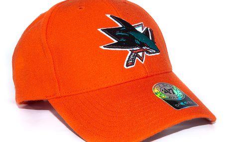 Kšiltovka 47 Brand San Jose Sharks Stand By Orange Snapback