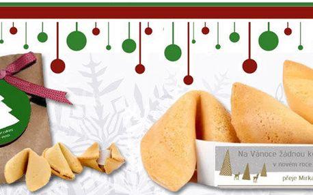 Vánoční přání v obalu smartcookies