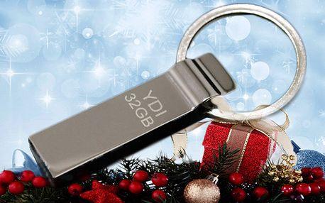 USB Flash Disk 32GB s klíčenkou testován softwarem H2testw 1.4