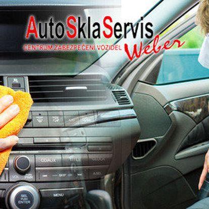 Čištění interiéru auta a sleva na autofólie