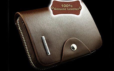 Luxusní pánská peněženka Fuerdanni!! KŮŽE!!
