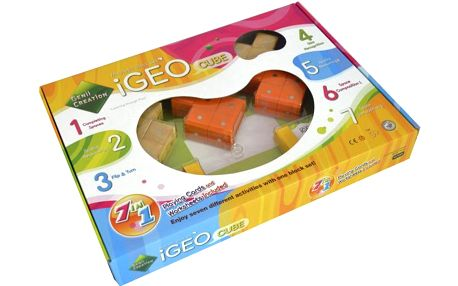 Stavebnice Genii Creation iGEO Cube