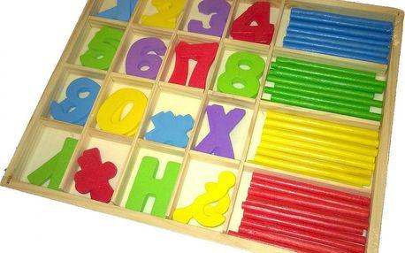 Study Box - Počítání s tyčinkami