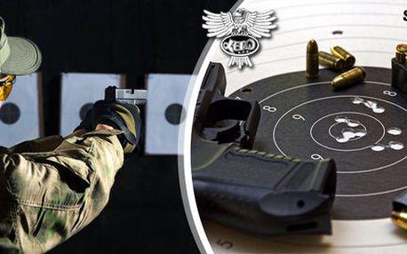 Zastřílejte si z 5 až 13 profesionálních zbraní