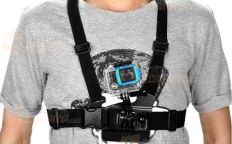 Hrudní pás pro 1,2,3 Gopro Hero kameru a poštovné ZDARMA! - 9999915273
