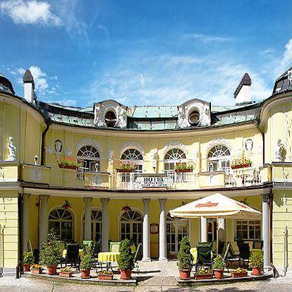 6denní nebo 14denní wellness pobyt pro 2 osoby v hotelu St. Antonius v Mariánských Lázních