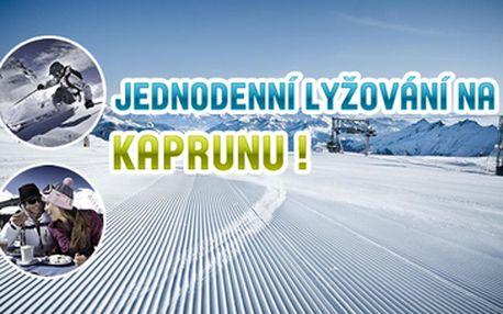 990 Kč za jednodenní lyžařský zájezd na ledovec Kaprun, Kitzbühelské Alpy, Rakousko termín 27.12.2014