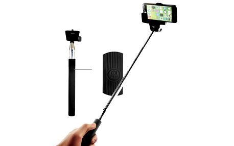 Selfie tyč C-Tech teleskopická, bluetooth