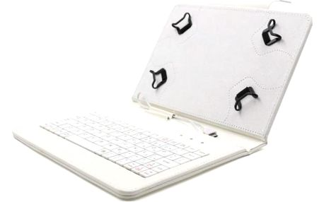"""Pouzdro na 7""""-7,85"""" tablety s klávesnicí C-TECH PROTECT"""