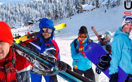 Servis a zapůjčení lyží, snowboardu či celé výbavy