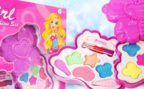 Šminky pro malé parádnice! Hromada zábavy pro všechny princezny.