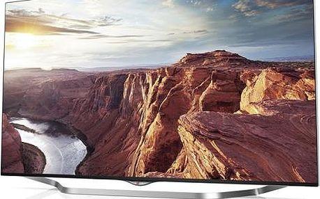 Televize LG 49UB850V s úhlopříčkou 124cm stříbrná/bronzová