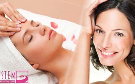 Ruční lymfatická masáž obličeje. Propracovaná masáž pro zkvalitnění pokožky a zmírnění otoků.