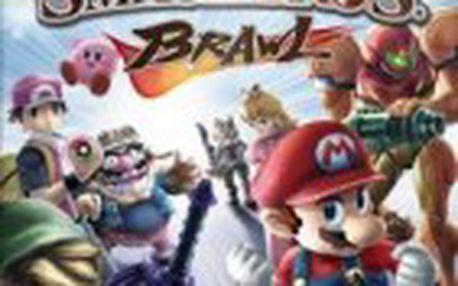 Akční hra Super Smash Bros. Brawl (WII)