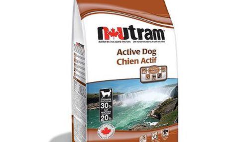 Krmivo nejvyšší kvality Granule NUTRAM Active 15kg