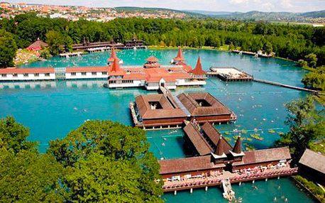 Pobyt u termálního jezera Hevíz s polopenzí, wellness a vstupem do lázní
