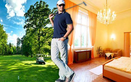Skvělý golfový pobyt pro dva v Golf Clubu Myštěves
