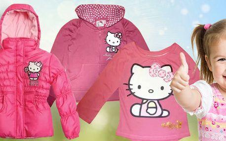 Značkové oblečení s motivem Hello Kitty pro dívky