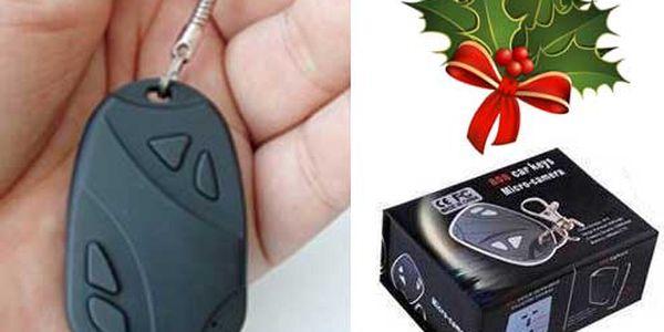 Minikamera v tvare auto o