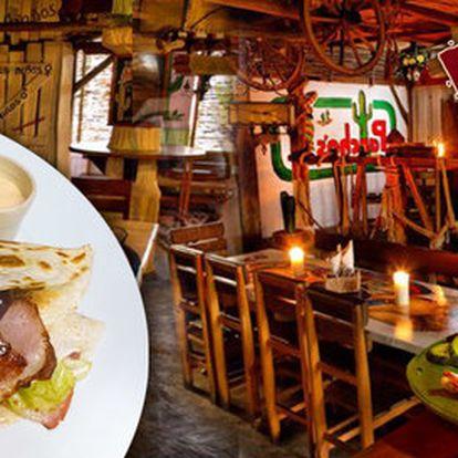 Mexické menu pro dva v restauraci Pancho's