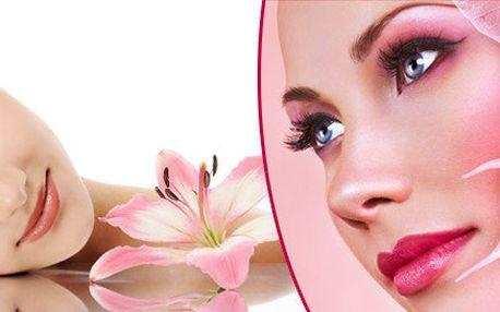 Luxusní kosmetické ošetření a masáž obličeje, krku, dekoltu a rukou - 90 minut