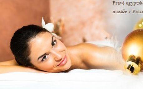 Rituál Nefertity - 100minutová luxusní péče pro ženy. Egyptská masáž a Egyptská antistresová masáž.