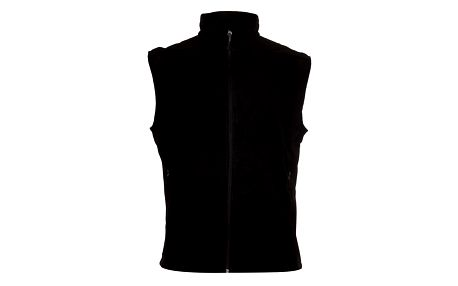 Univerzální černá softshellová vesta Trimm Drill