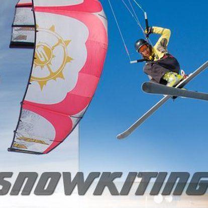 Nejlepší možnost jak si pořádně vychutnat kite, to je snowkiting - ideální dárek pro milovníky adrenalinu! Naučíte se nejen teorii, ale jak ovládat kite včetně skutečného výcviku s instruktorem!