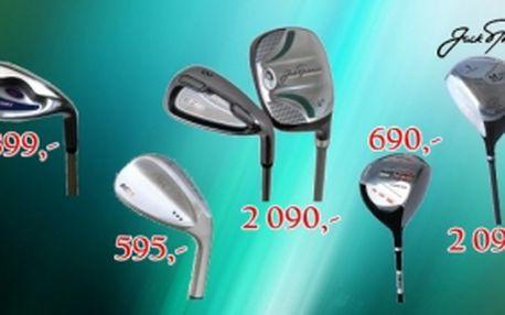 Jack Nicklaus výprodej golfových holí - večky, drivery i sety. Limitovaná nabídka kvalitního golfového vybavení s mrazivými cenami.
