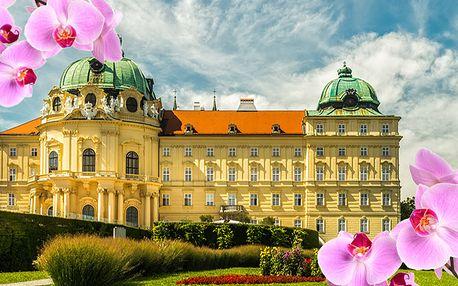 Největší výstava orchidejí v Rakousku, klášter Klosterneuburg a prohlídka Vídně