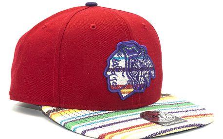 Kšiltovka 47 Brand Warchild Chicago Blackhawks Red Snapback
