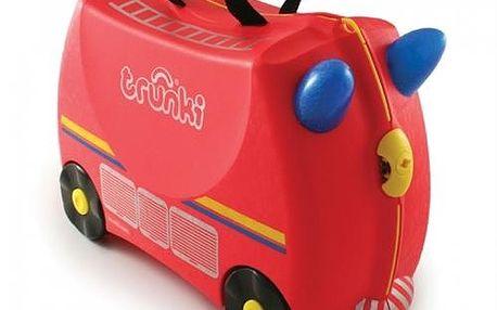 Trunki - Trunki Kufřík + odrážedlo hasičský vůz Freddie