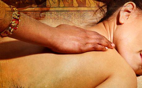 Rituál Nefertity: 100minutová egyptská masáž. Péče jako pro královnu!